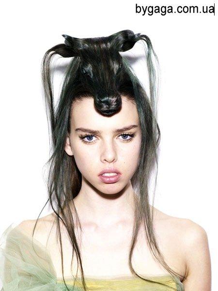 Картинки причёсок на средний волос - 0e