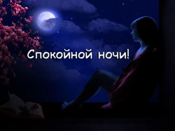 спокойной ночи картинка для девушки