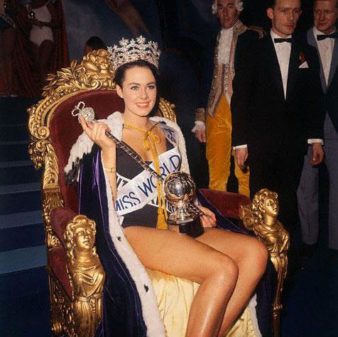 """Все победительницы конкурса """"Мисс мира"""" (63 фото)"""