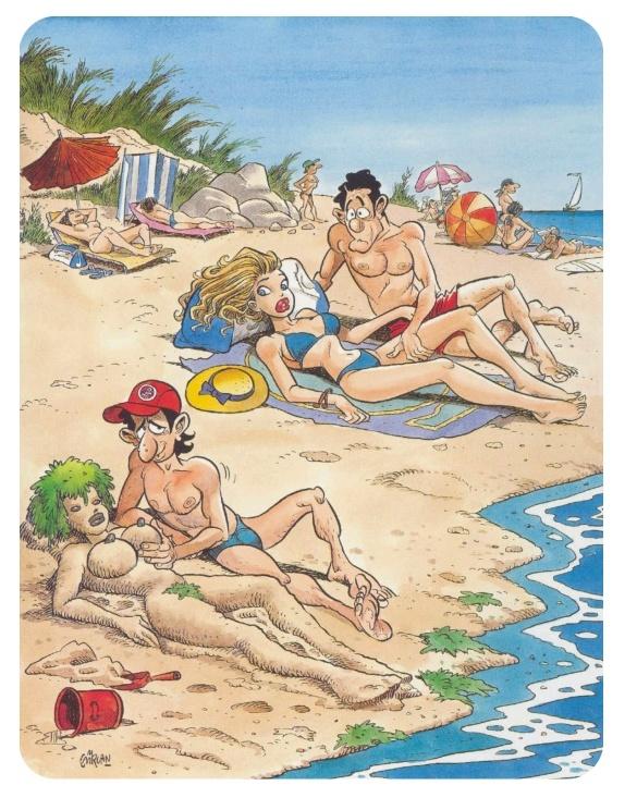 Карикатуры для взрослых (38 фото) .