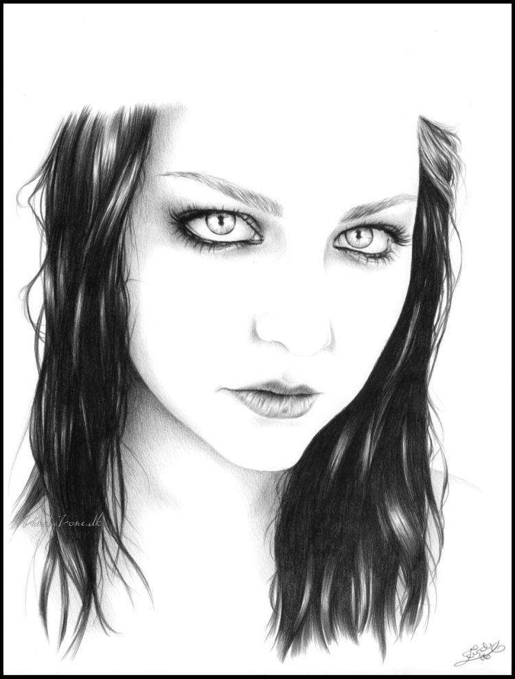Портреты и рисунки карандашом 78 фото