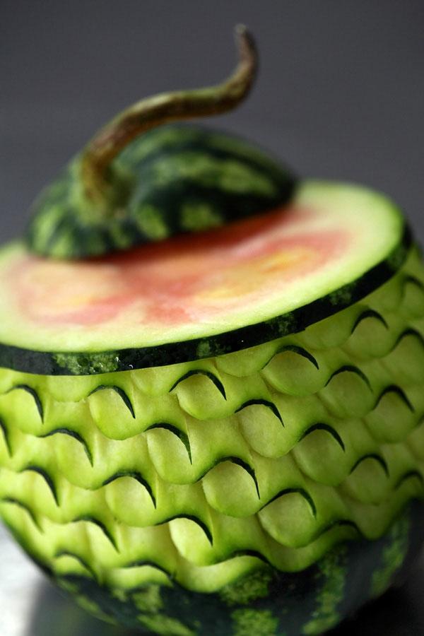 Креативная резьба по овощам и фруктам