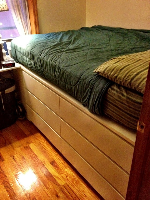 Кровать комод фото