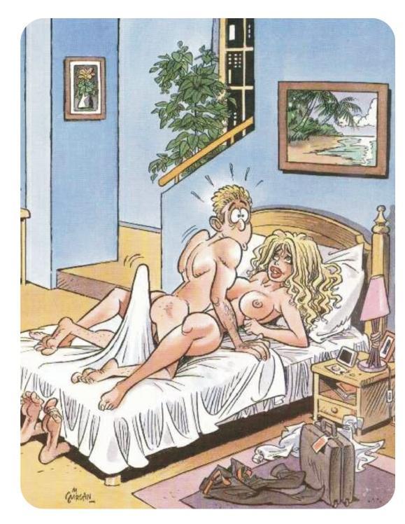 Русская порно карикатура