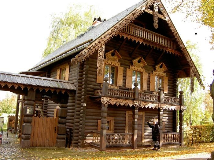 Деревянные терема фото