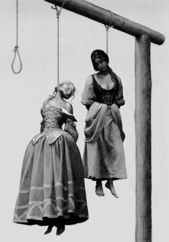 Способы казни в разные времена (16 фото)