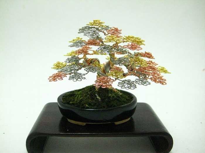 Wire Bonsai Trees (5 ����)