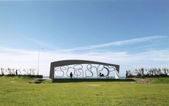 Самая длинная скамейка в мире
