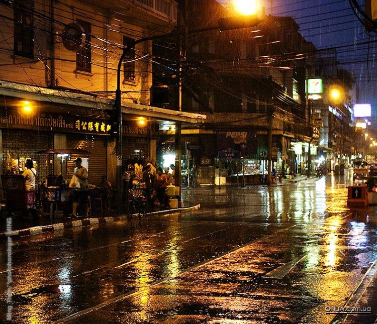 Фото ночных городов мира