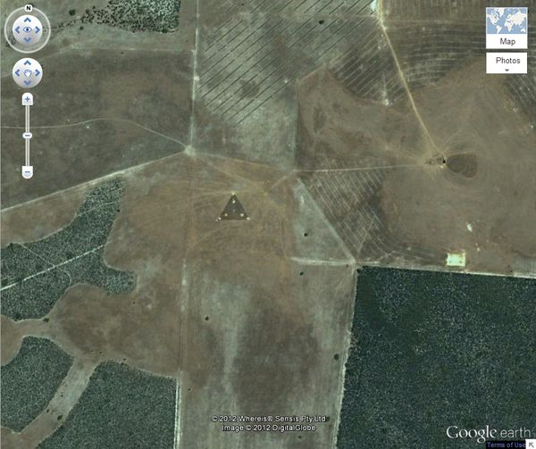 Интересные снимки из Google Earth (10 фото)