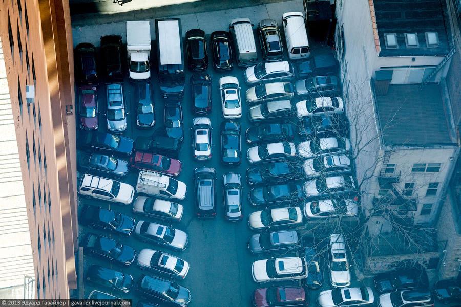 Как паркуются в россии - 9a80