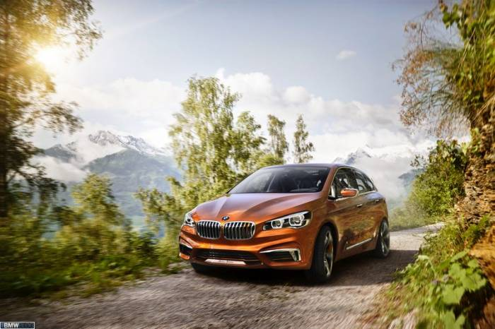 Active Tourer Outdoor - новинка от BMW (16 фото)
