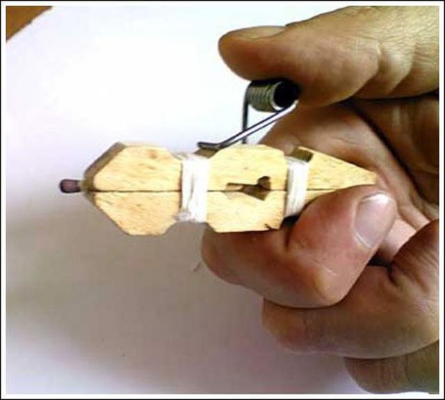 Как сделать дюбель из бумаги