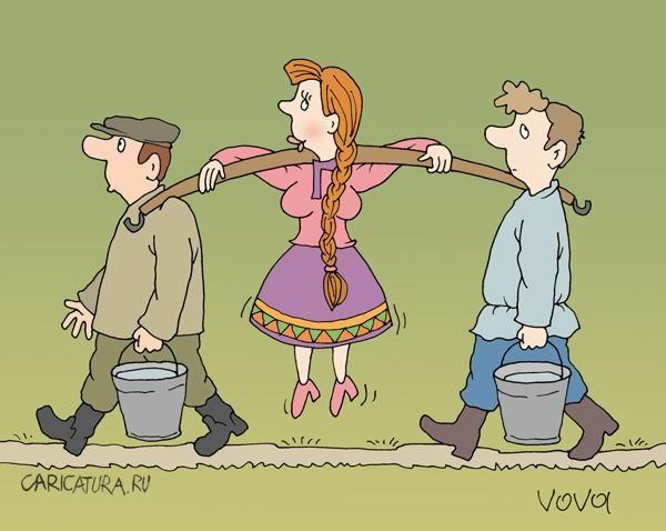 Забавные карикатуры (42 фото)