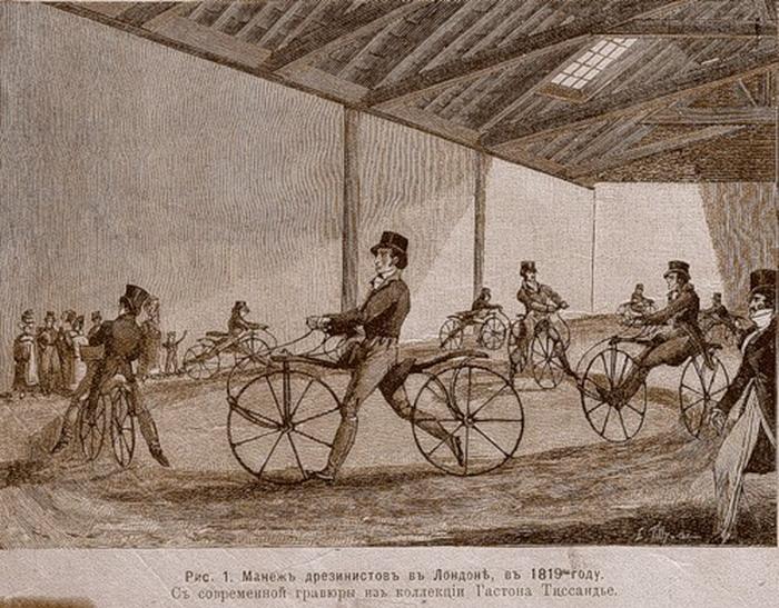Долгое изобретение велосипеда (6 фото)