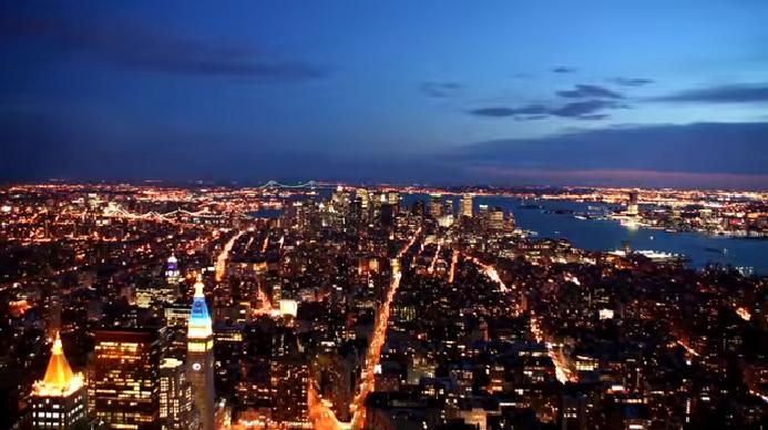 ВИДЕО: TimeLapse New York