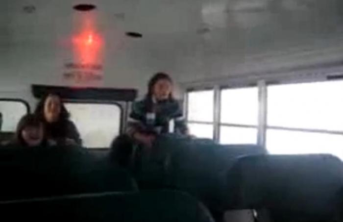 Жену ебут в автобусе писать