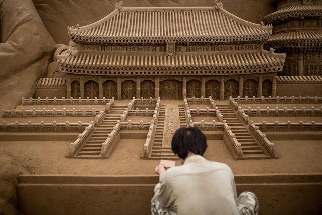 Выставка песочных скульптур в Йокогама (19 фото)
