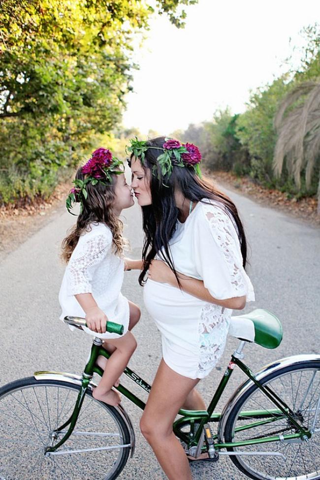 Фото мамочек и их дочек 13 фотография