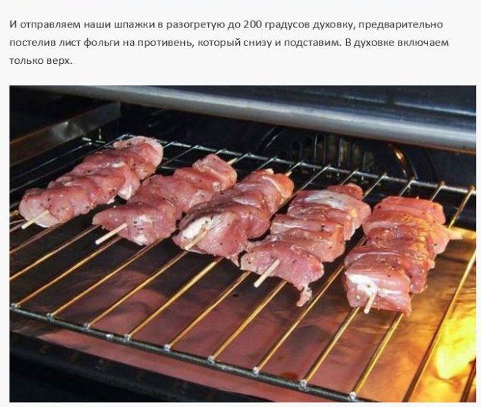 Приготовления шашлыка из свинины в домашних условиях