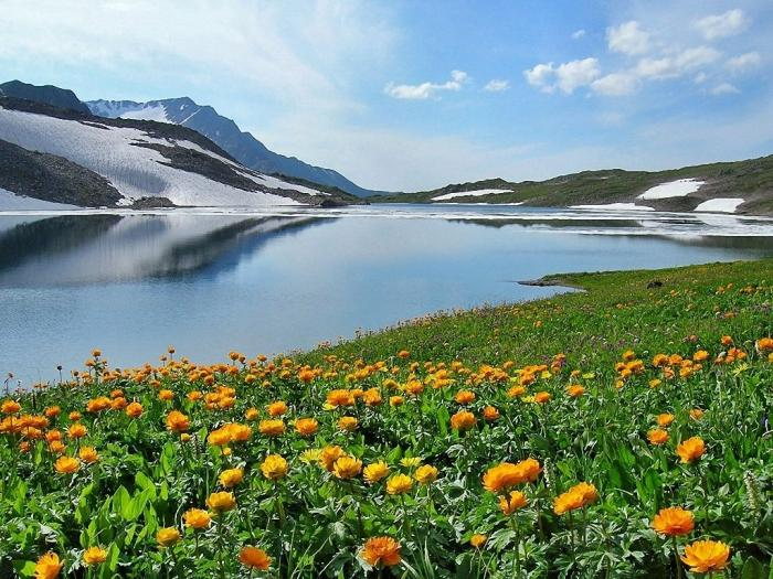 """Удивительное озеро """"Байкал"""" (9 фото)"""