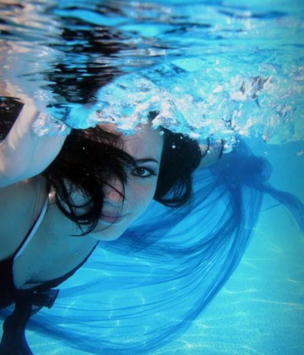 Фото обнажённые красивые девушки под водой 13 фотография