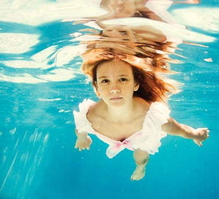 Фото обнажённые красивые девушки под водой 9 фотография
