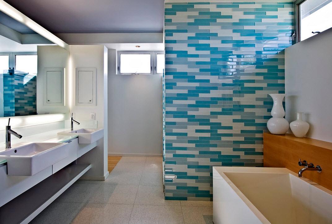 Дизайн кирпичной стены в комнате