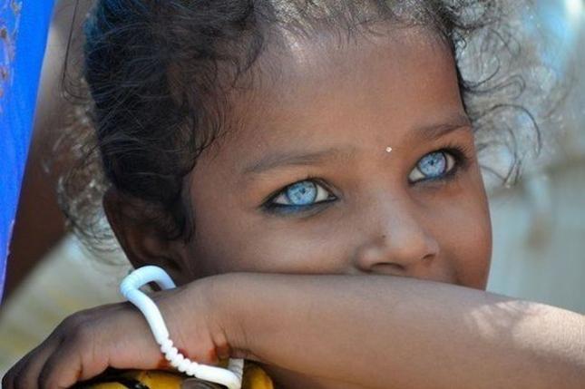 Красивые и выразительные глаза людей (10 фото)