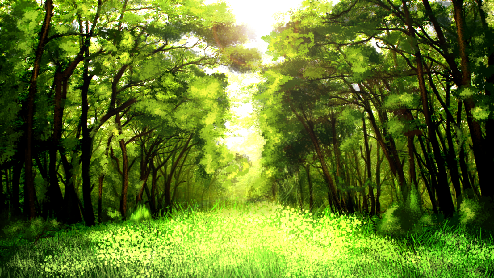 Anime Scenery Forest DataLife Engine > �...