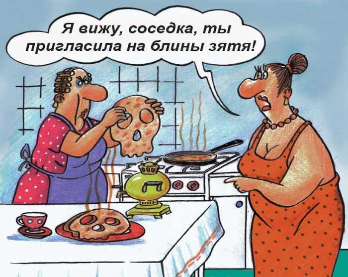 Свежие, новые и крутые анекдоты о тёще!)