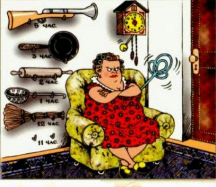 Анекдот про жену хоронившего мужа