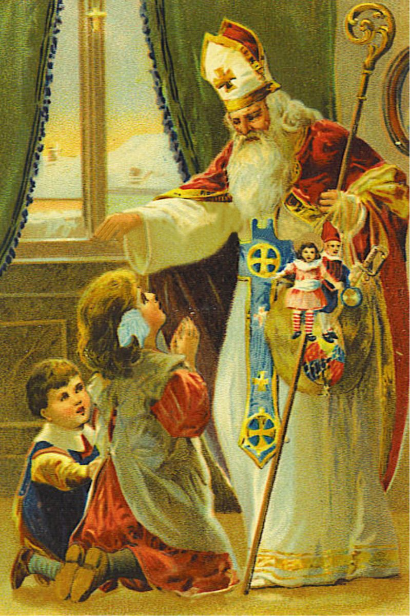 Подарки на николая чудотворца