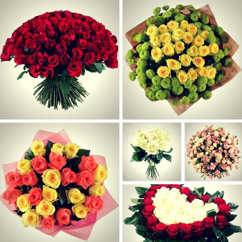 Девушки любят цветы