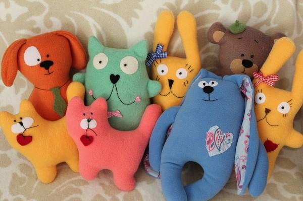 Мягкие игрушки своими руками бизнес
