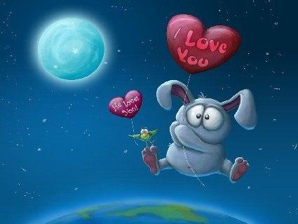 Прикольные картинки в День Святого Валентина и День влюблённых (15 фото)