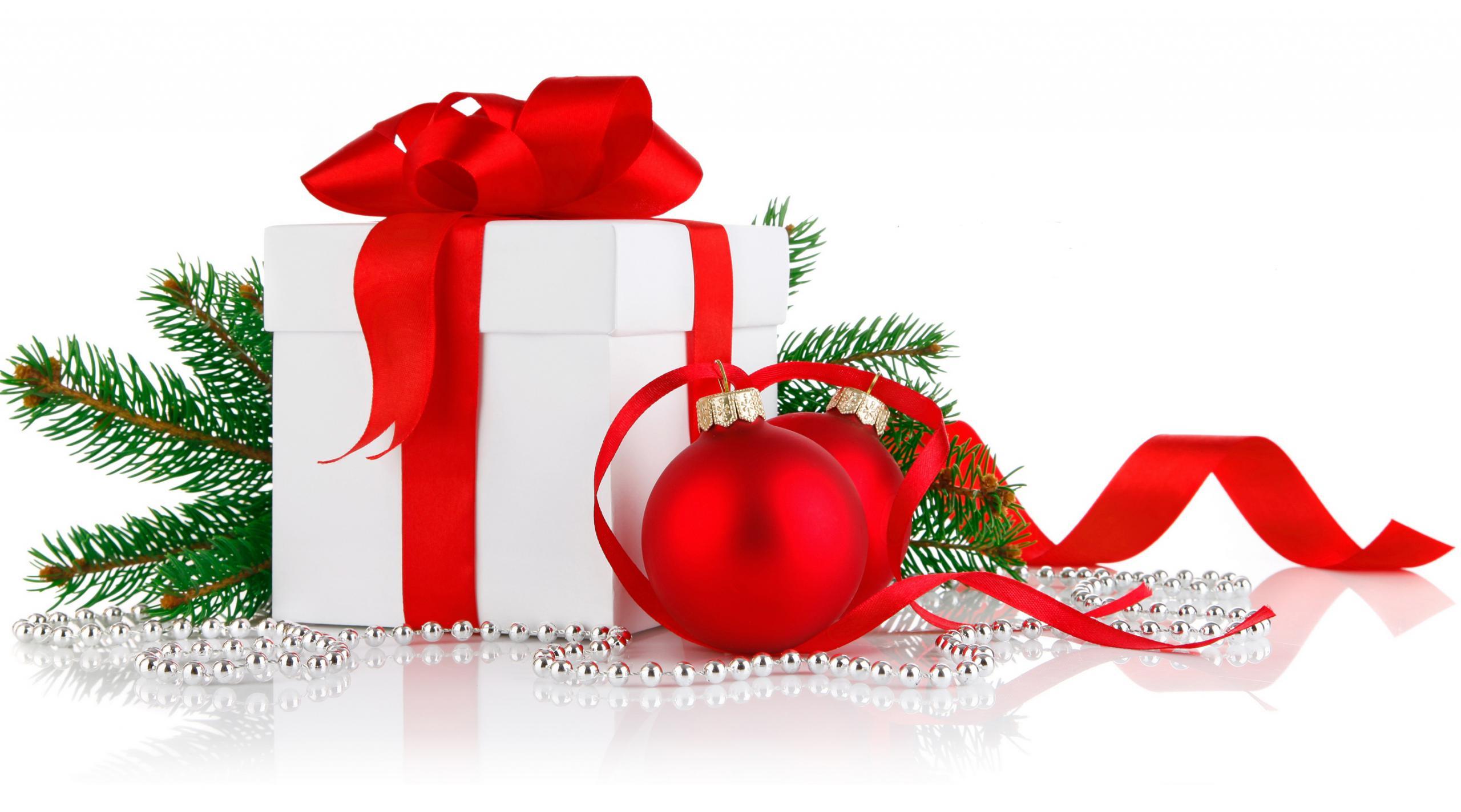 Обои композиция на белом фоне, Красивая рождественская. Новый год foto 9