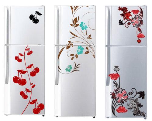 Как разрисовать холодильник фото