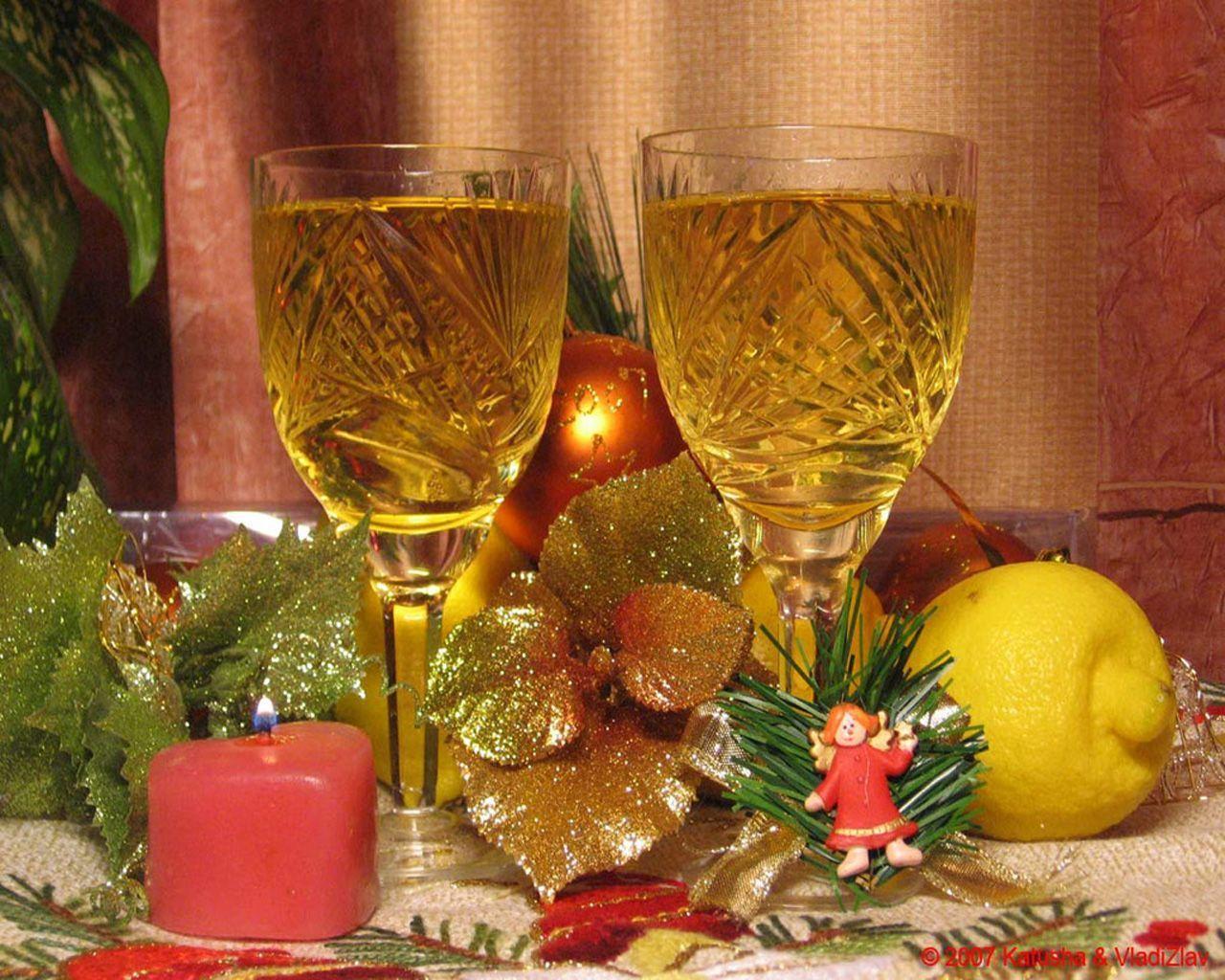 Застольные новогодние поздравления