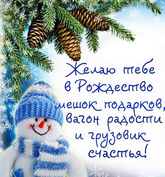 Прикольные поздравления с новым и рождеством