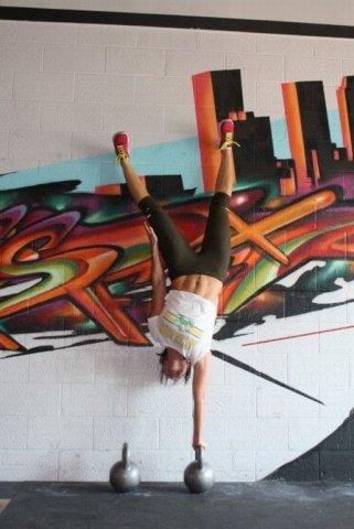 18 фотографий гимнасток: