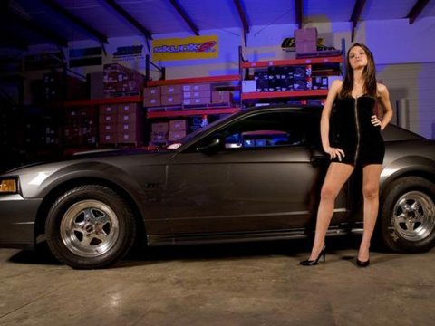 �������� ������� � Ford Mustang (50 ����)
